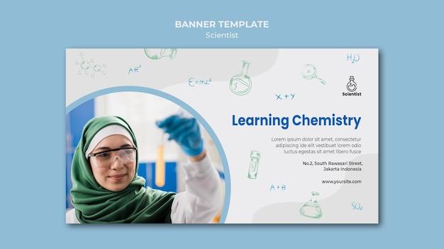 Science club banner vorlage