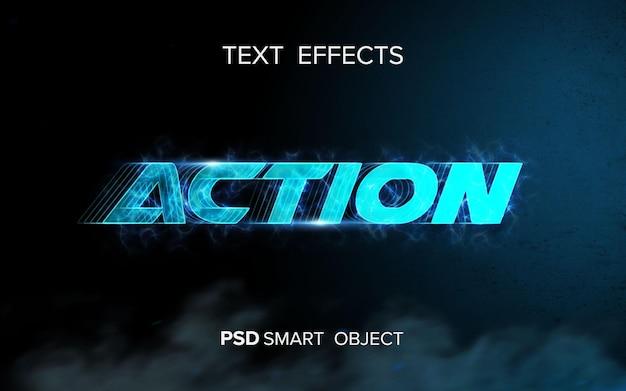 Science-fiction-texteffekt