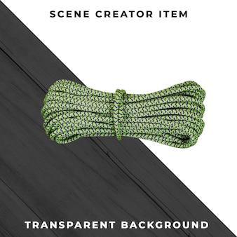Seil isoliert mit clipping-pfad. Kostenlosen PSD