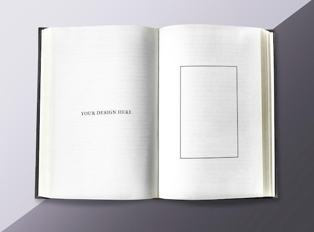 Seite in einem notizbuch