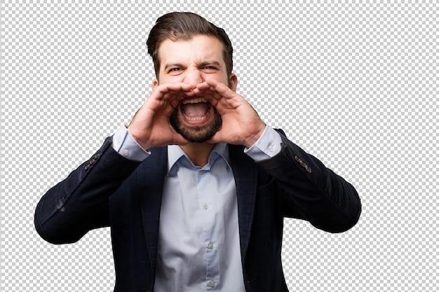 Senior schöne frau mit einem mobiltelefon