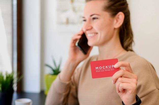 Shopping online-konzept modell