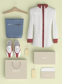 Shopping-produktset-modell
