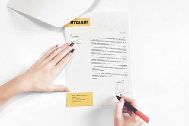 Signiertes mehrseitiges dokumentenmodell