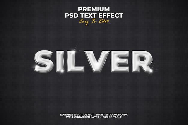 Silber style-effekt