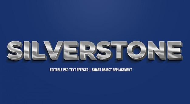 Silverstone - moderne verlaufstexteffekte