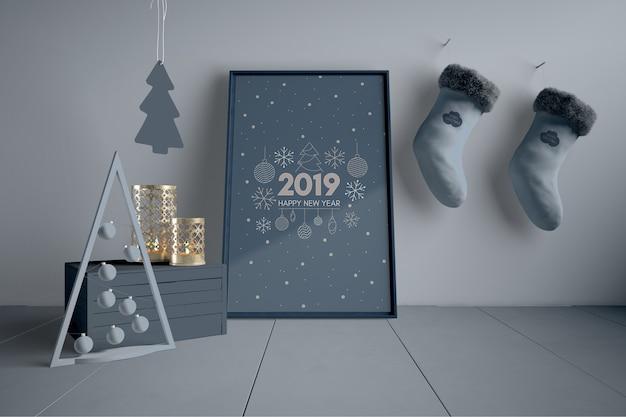 Skandinavische weihnachtsdekorationen