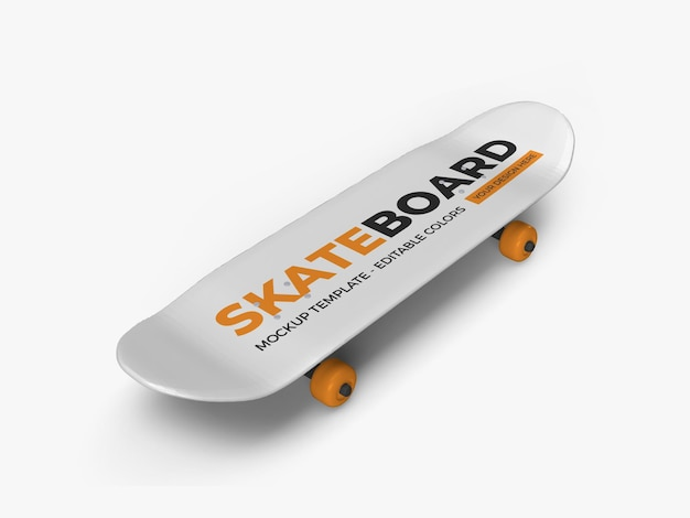 Skateboard mockup isoliert