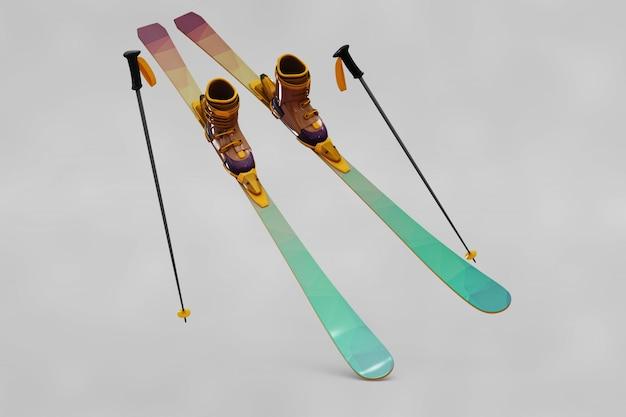 Ski-modell