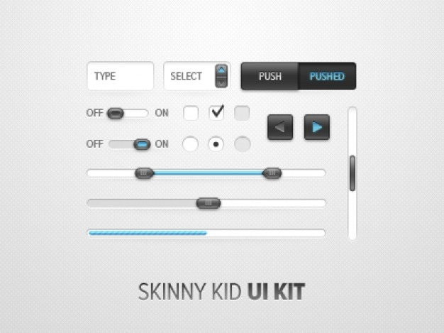 Skinny kid kit
