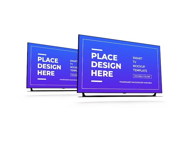 Smart tv 3d-modell