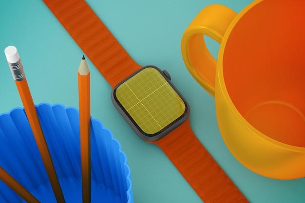 Smart watch-desktop