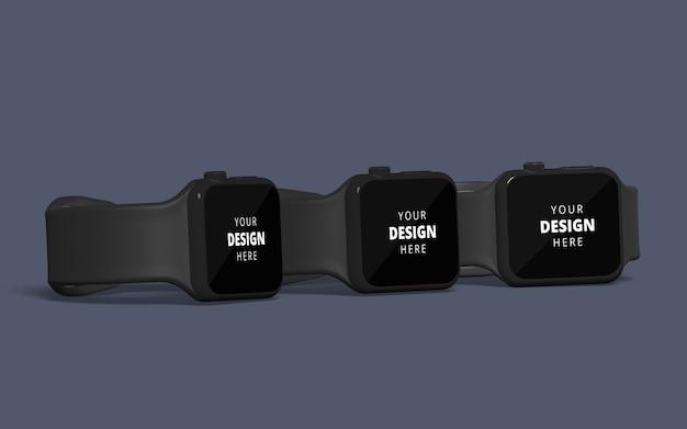 Smart watch mockup