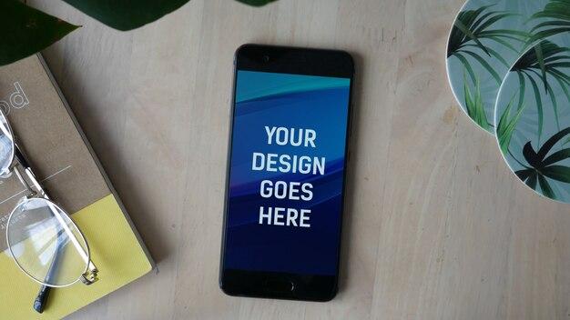 Smartphone-anzeige