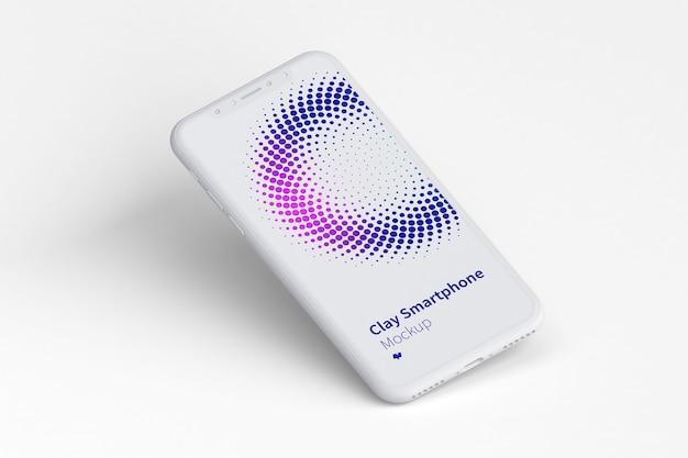 Smartphone-bildschirmmodell