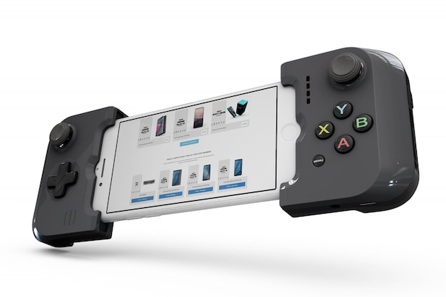 Smartphone-controller-modell