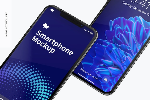 Smartphone max modell aus der nähe