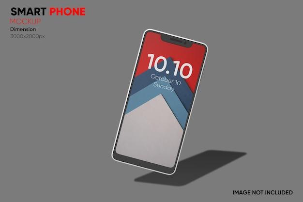 Smartphone-modell der vorderansicht