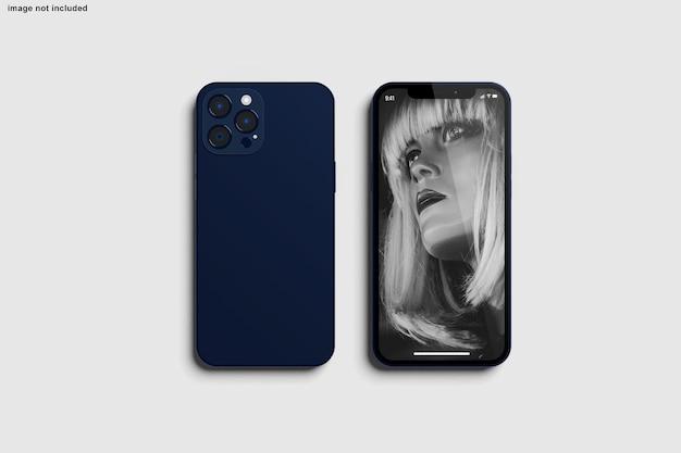 Smartphone-modell für design-präsentation