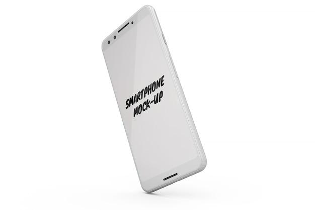 Smartphone-modell isoliert