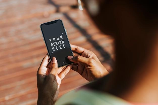 Smartphone-modell Kostenlosen PSD