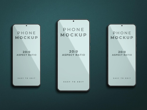 Smartphone-modellentwurf isoliert