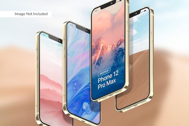 Smartphone pro max mockup