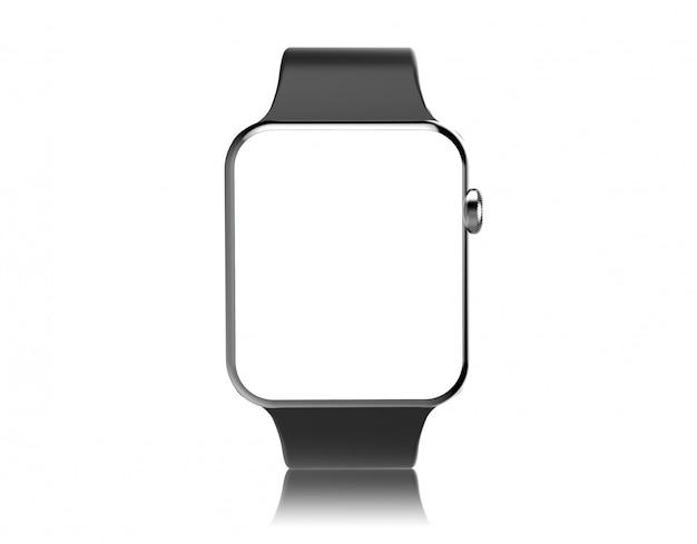 Smartwatch-bildschirmmodell isoliert