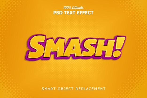 Smash editierbare psd