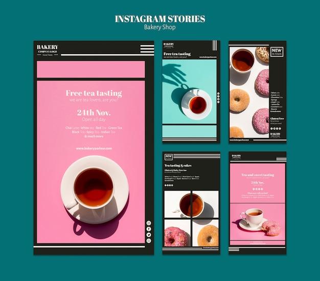 Social-media-beitrag für bäckerei