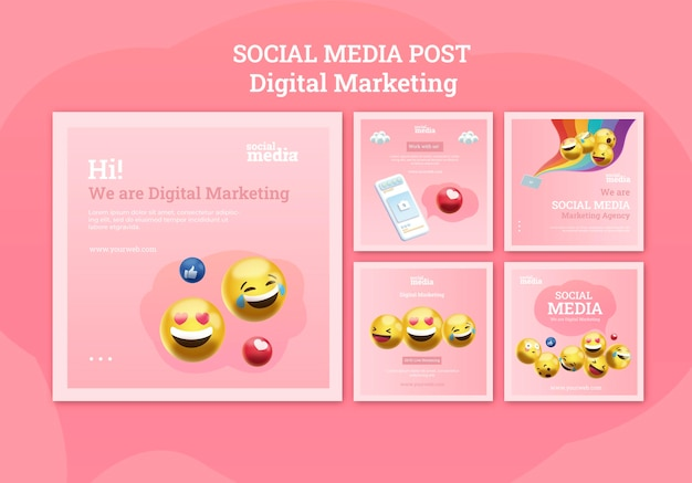 Social media instagram beiträge