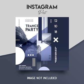 Social media instagram beitrag