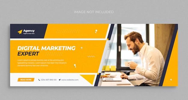 Social-media-instagram-webbanner oder quadratische flyer-vorlage für digitale marketingagenturen