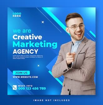 Social-media-post-design der agentur für digitales marketing