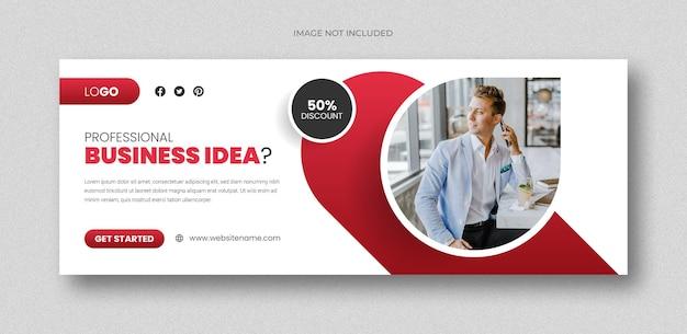 Social-media-post für konferenzen und webbanner oder designvorlage für quadratische flyer
