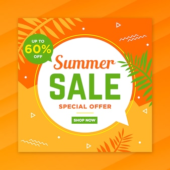 Social media summer special post