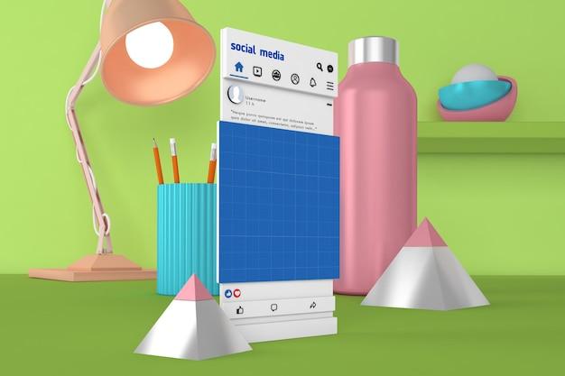 Social media v2 desktop