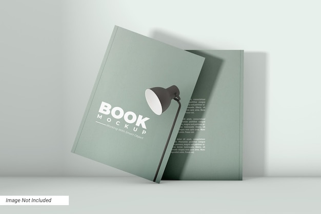Softcover buch mockup design