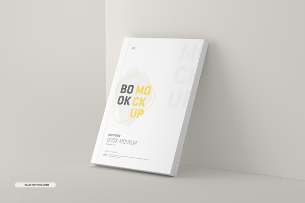 Softcover-buchcover-modell
