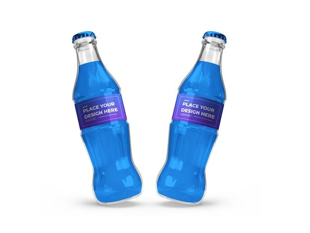 Softdrinkflasche 3d mockup