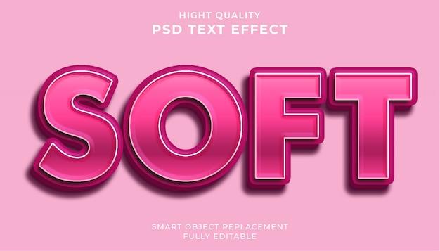 Softtext-effekt