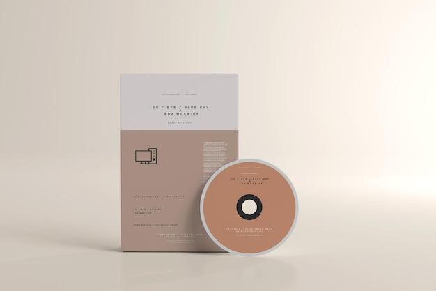 Software-box und disk-mockup