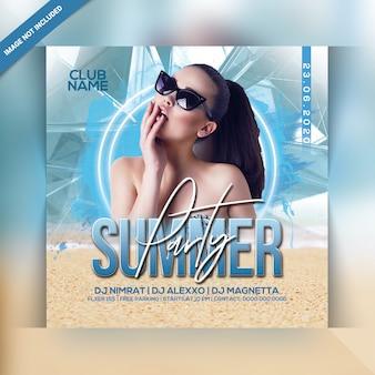 Sommerfest flyer