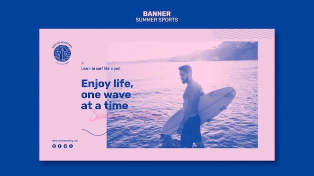 Sommersport banner