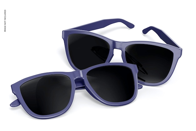 Sonnenbrillenmodell, perspektive