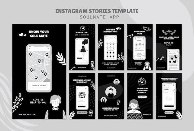 Soulmate app social media geschichten