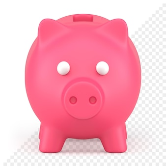 Sparschwein 3d-symbol