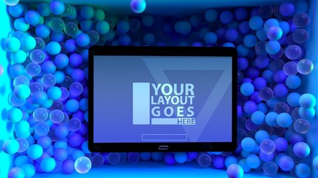 Spaß-modernes tablet-modell