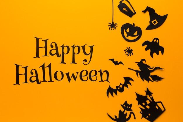 Spezifische kunst gezeichnet am halloween-tag