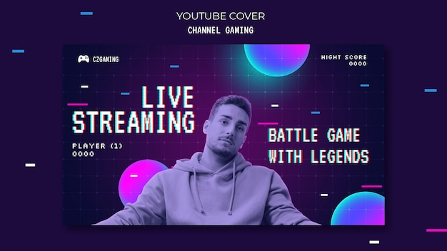 Spiel-streaming youtube-cover